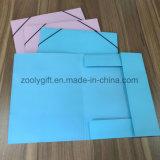 Wholesale A4 Documents File Folder Cardboard Paper File Holder Elastic Closure