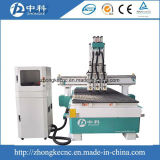 Pneumatic Wood CNC Router Machine with Three Spindles