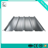 Cheap 0.7mm Aluminum Color Coated Corrugated Metal Roofing Sheet Price