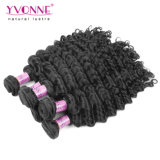Deep Wave Brazilian Virgin Human Hair Weaving