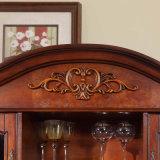 Antique White Wine Oak Wood Cabinets (GSP19-004)