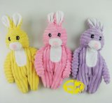 Pet Plush Toy of Rabbit for Dog's Bite and Chew