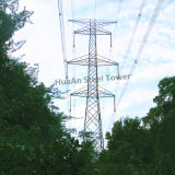 Angular Steel Frame Electric Power Transmission Tower