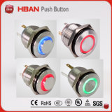 16mm Momentary Latching LED Waterproof IP67 Electrical Switch