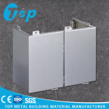 Customized Aluminum Single/ Solid Wall Cladding Panel for Corners of Building
