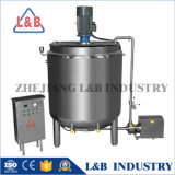 3t Jacketed Liquid Medicated Soap Mixing Tank with Agitator