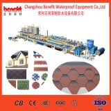 Manufacturer Supply Round Shape Plain Fiberglass Asphalt Roofing Shingle Production Line for Sale
