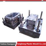 Plastic Injection Fruit Turnover Box Crate Mold