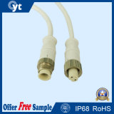 Female to Male White Colour Waterproof Power Cable