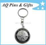 Rotatable 3D Coin Key Chain