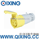 IEC 60309 16A 3p Yellow 110V Plugs and Sockets