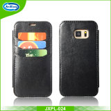 PU Leather Wallet Case with Card Slots Stand Cover for Samsung S6
