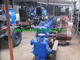 Self-Priming Trash Pump with Motor
