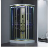 Single Steam Shower Room with Gold Color