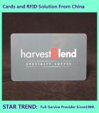 Rent Card with Magnetic Stripe Made Plastic