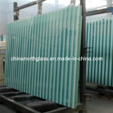 6mm+1.14PVB mm+6mm Strip Laminated Glass