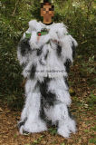5 Piece Adult Ghillie Suit Snow Camo