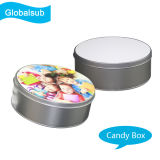 Printable Round Candy Tin with Sublimation Blank