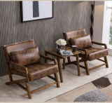 Best Quality Leisure Armchair with Table in Bedroom Furniture (JX-009)