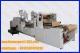 Servo Motors Control Fully Automatically Paper Bag Making Machine