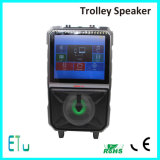 15 Inch Outdor Sound System Professional 2 Way Active Speakers Power Amplifer with LCD Screen