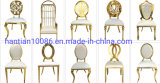 Customization Available Event Wedding Furniture Stainless Steel Banquet Dining Chair