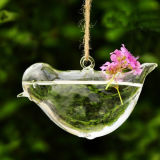 Hanging Glass Vase for Wedding Decoration with Rope