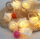3 Meters Rose Flower LED Battery Fairy String Lights