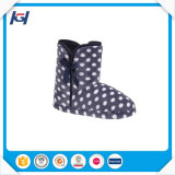 High Quality New Women′s Outdoor Indoor Boots Printed with Dots