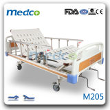 Cheap Price Wholesale 2 Functions Medical Hospital Manual Beds with Ce&ISO Approved