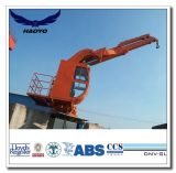 Small Space Telescopic Kunckle Boom Marine Crane