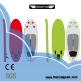 11'6 Multi-Colors Double Layers PVC Inflatable Stand up Paddle Fishing Yoga Board