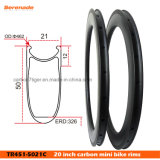 China 451mm Clincher Road 451 Carbon Bike Wheel Rim