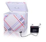 160L 12V/24V DC City Power Hybrid Solar Power Refrigerator