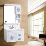 PVC Vanity with Ceramic Basin and Mirror Cabinet (8006)