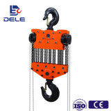 0.5t to 50t Dele Chain Pulley Block