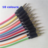 Colorful 3.5mm Mono Audio Cable