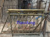 Wrought Iron Fence/Railing with Galvanized Anti Rust