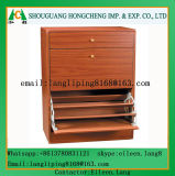 One Door Cabinet with Stool for Shoes