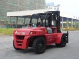 10ton Counter Balance Diesel Forklift with Cabine and Air Condition