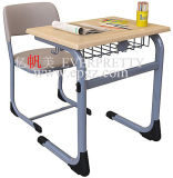 Hot Sale School Furniture Adjustable Student Desk and Chair