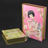 High Quality Book Shaped Metal Box Christmas Gift Tin