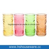 Tiki Glass Vase, Home Decoration Glass Vase, Table Flower Glass Vase