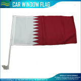 Polyester Red White Flying Car Window Flag Qatar Car Flag (J-NF08F06067)