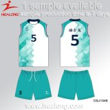 Healong China Manufacturer Clothing Sublimation Ladies Volleyball Shirt for Sale