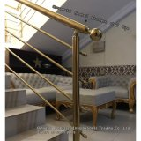 304 Ornamental Stainless Handrail with Color Plating