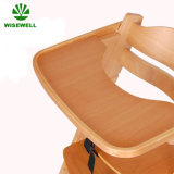 Wooden Commercial Baby Dining Chair with Tray