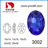 Oval Crystal Stone for Crystal Jewelry Components (SCATTERED BEAD)