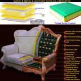 Leather Sofa for Home Furniture with Optional Sofas Color (508)