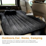 Car Bed Travel Inflatable Mattress Air Bed Camping Universal SUV Extended Air Couch with Pillow